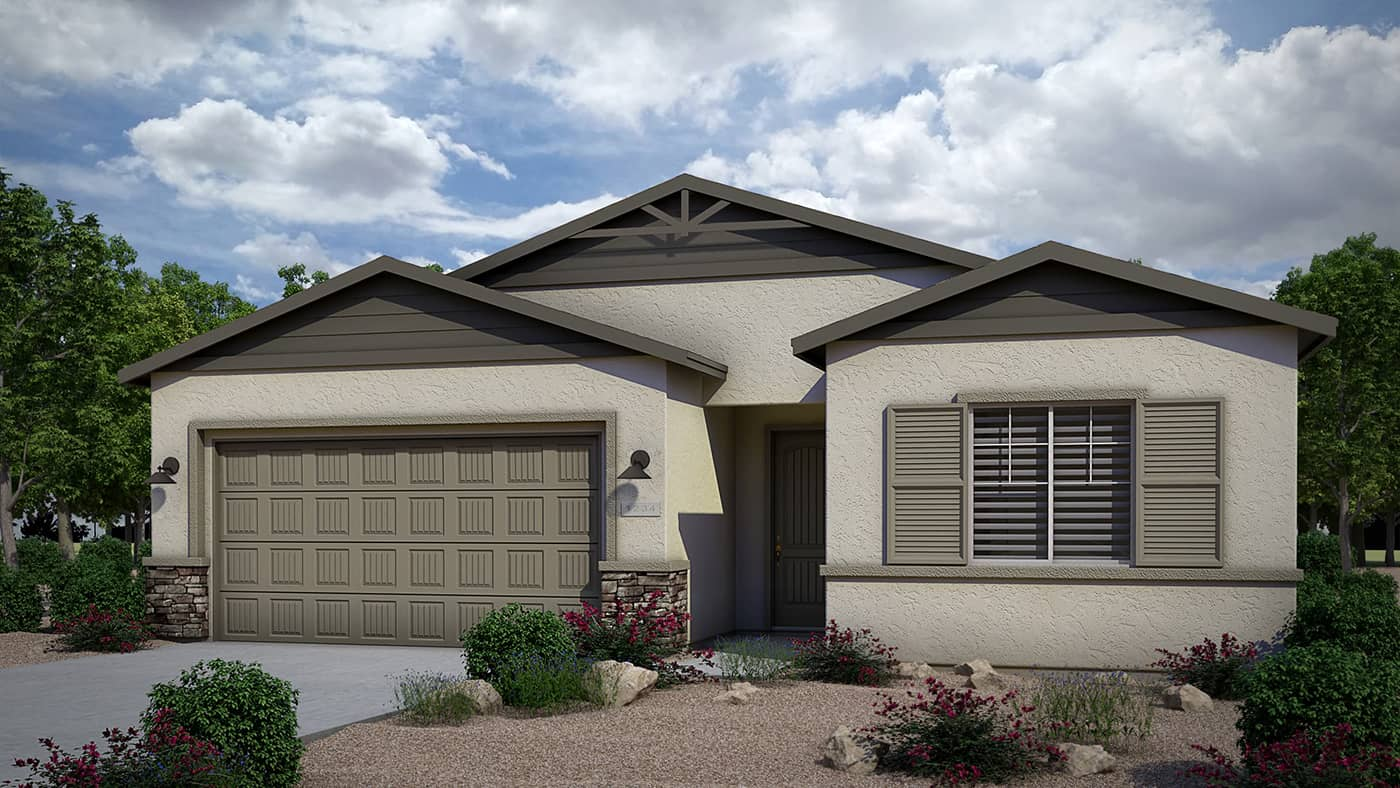 Let It Be Elevation A by Dorn Homes