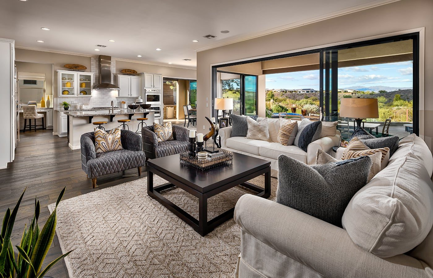 Trilogy Wickenburg Ranch Brasada Model Great Room