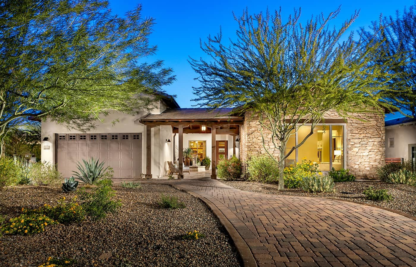 Trilogy Wickenburg Ranch Latigo Model Front Exterior