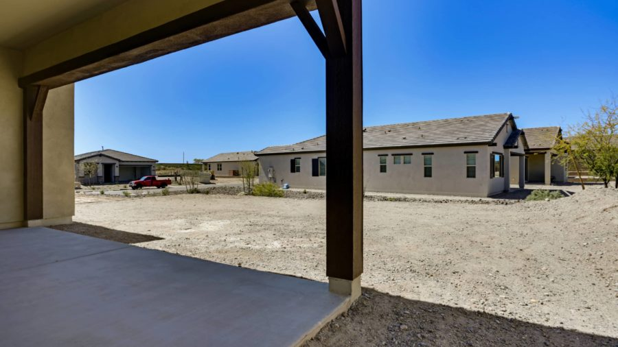 4254 Sawbuck Way Lot 1498 Rear Covered Patio