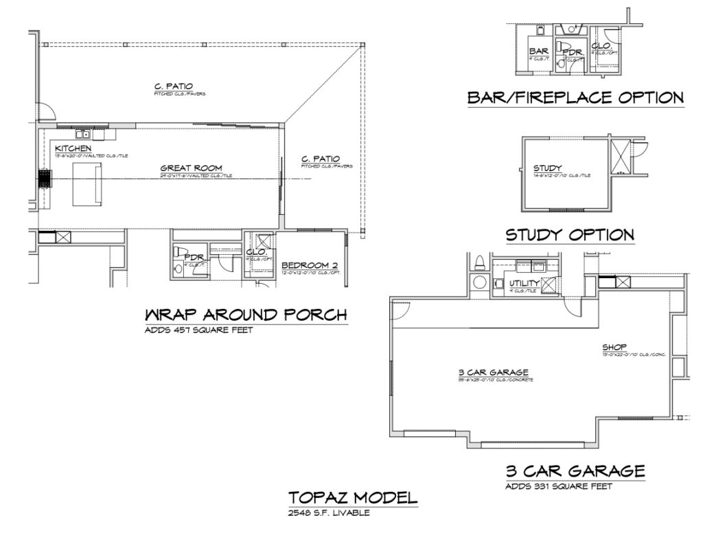 Topaz floor plan options cropped